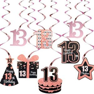 13th birthday party decorations Excelloon 13th Birthday Decorations for