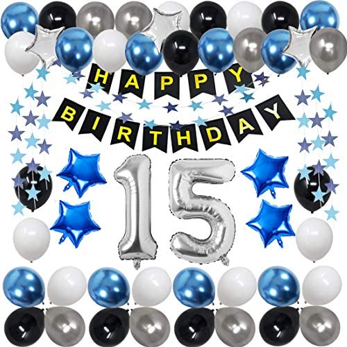 15th birthday party decorations 15th Birthday Decorations for Men