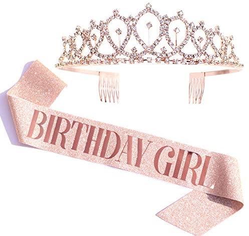 15th birthday party decorations Birthday Girl Sash Rhinestone