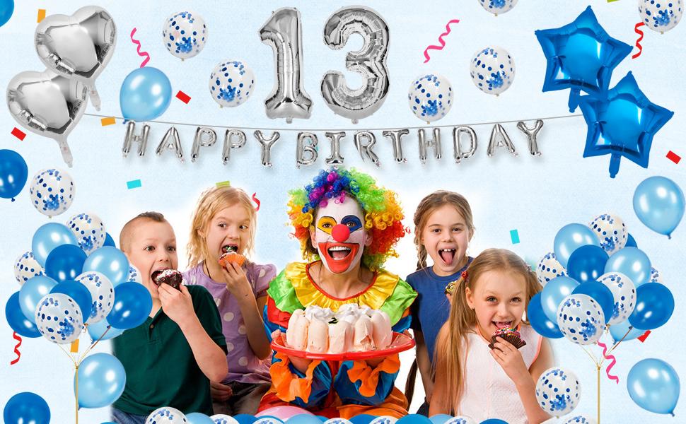 13 birthday decorations blue birthday party decorations 13 happy 31 birthday decorations for men