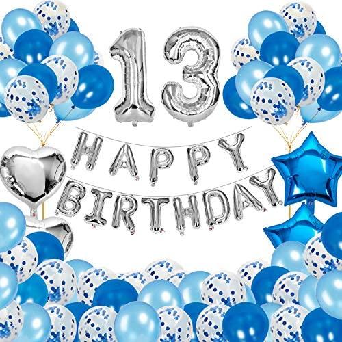 1622548884 13th birthday party decorations JOEVOT Happy 13th Birthday Decorations