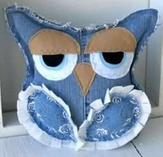 owl with jeans