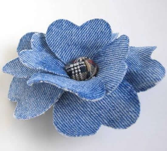 Beautiful ways to reuse jeans