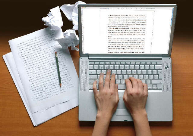 writing academic text