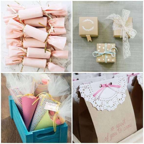 Favors with Paper for Birthday with Templates