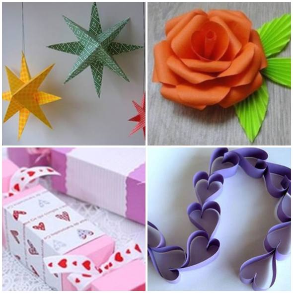 Gorgeous Paper Crafts step by step