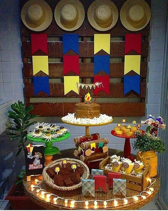 Decoration for Junina Party Birthday