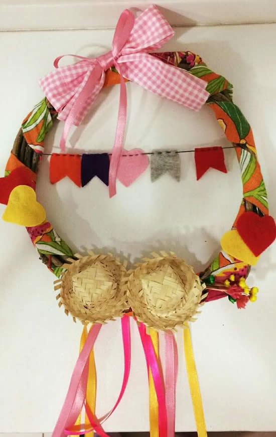 Wreath for June Party
