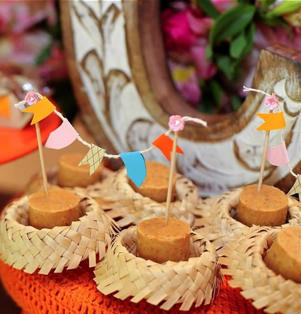 Decorated sweets for Festa Junina