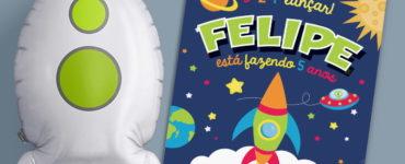 Astronaut Party Invitation Ideas