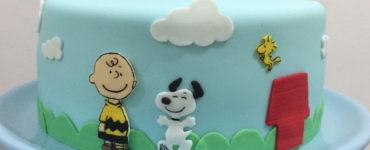 Decorated Snoopy Cake Ideas