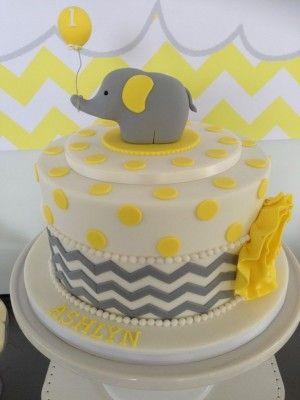 Elephant Decorated Cake Ideas