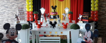 Mickey Party Decoration Ideas