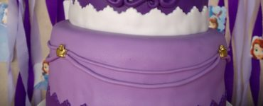 Princess Sofia Decorated Cake Ideas