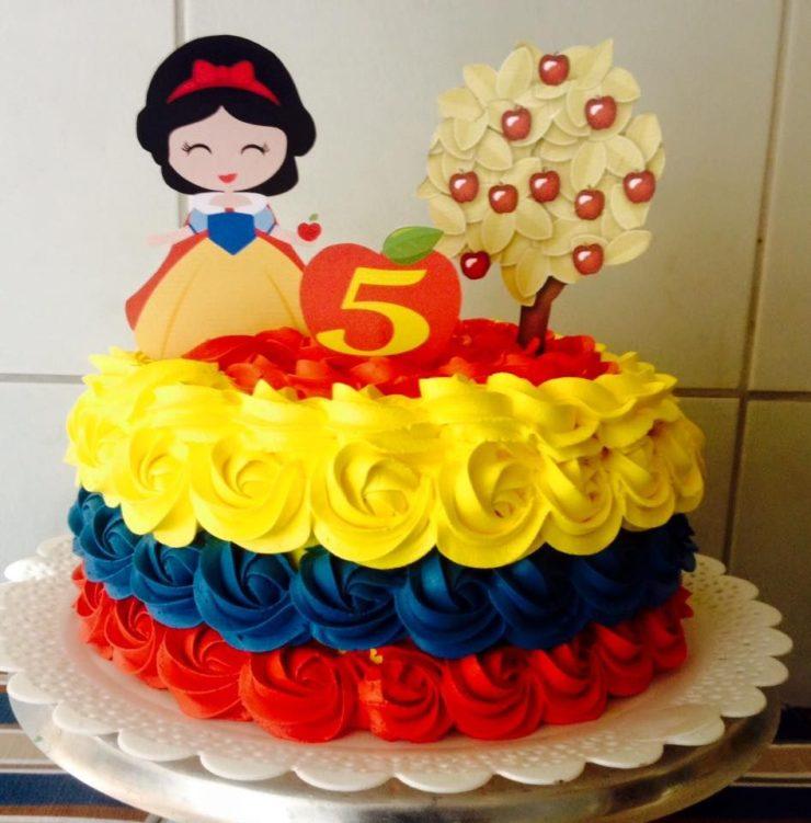 Snow White Decorated Cake Ideas