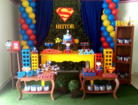 Superman Party Decoration Ideas