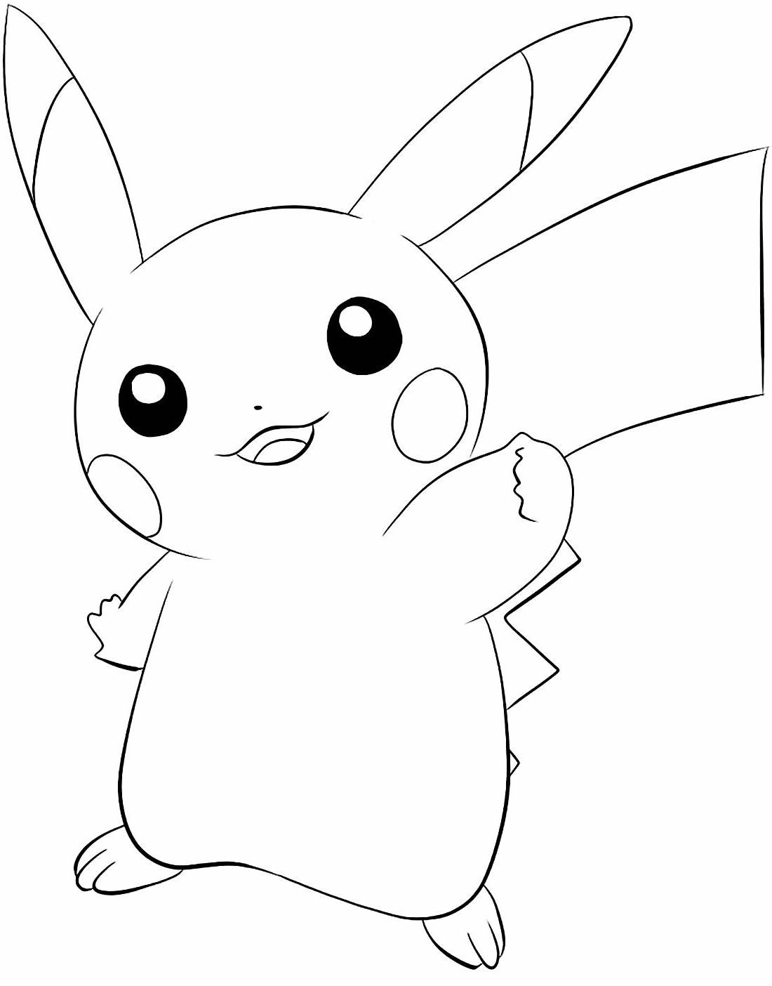 beautiful drawing by Pikachu