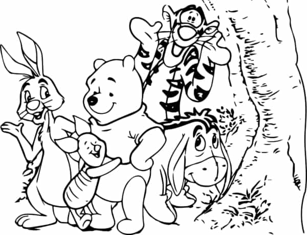 teddy pooh and his gang