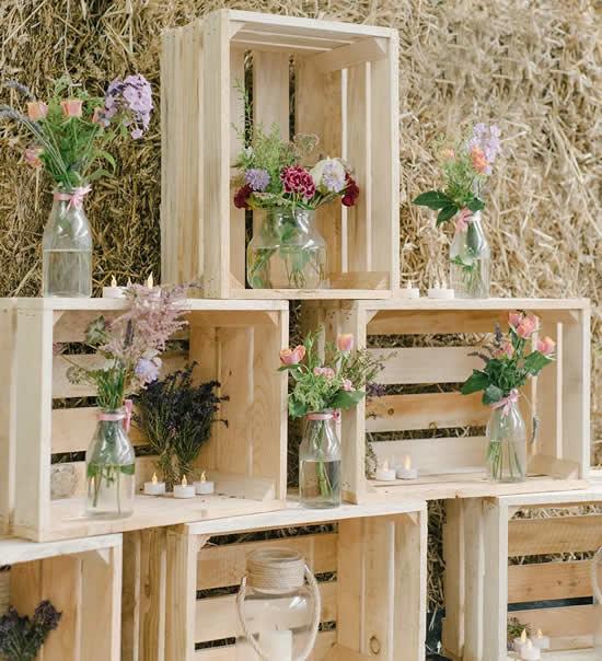 Crate decoration