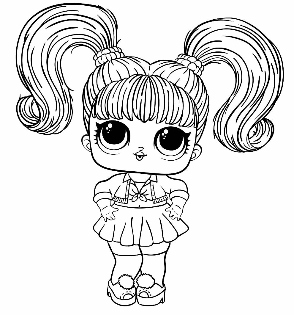LOL Doll image to paint
