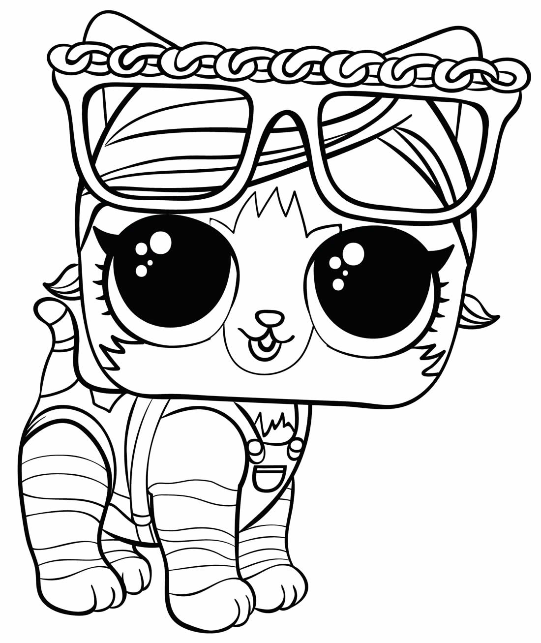 Image of LOL Doll to paint - Pet