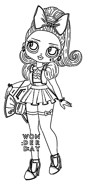 Teenage LOL Doll Design