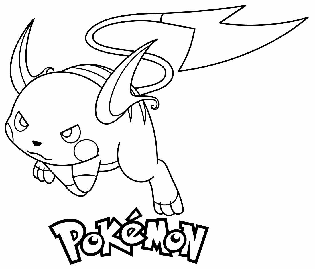 Pokemon to color