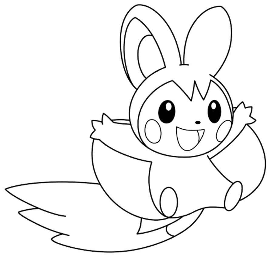Pokémon coloring page