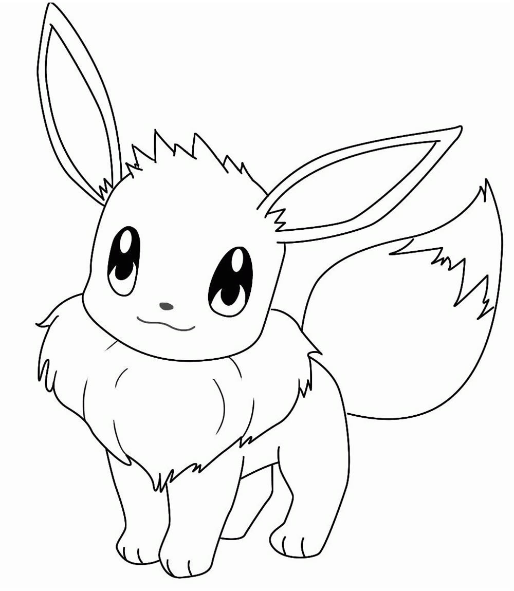 Eevee Drawing - Pokemon