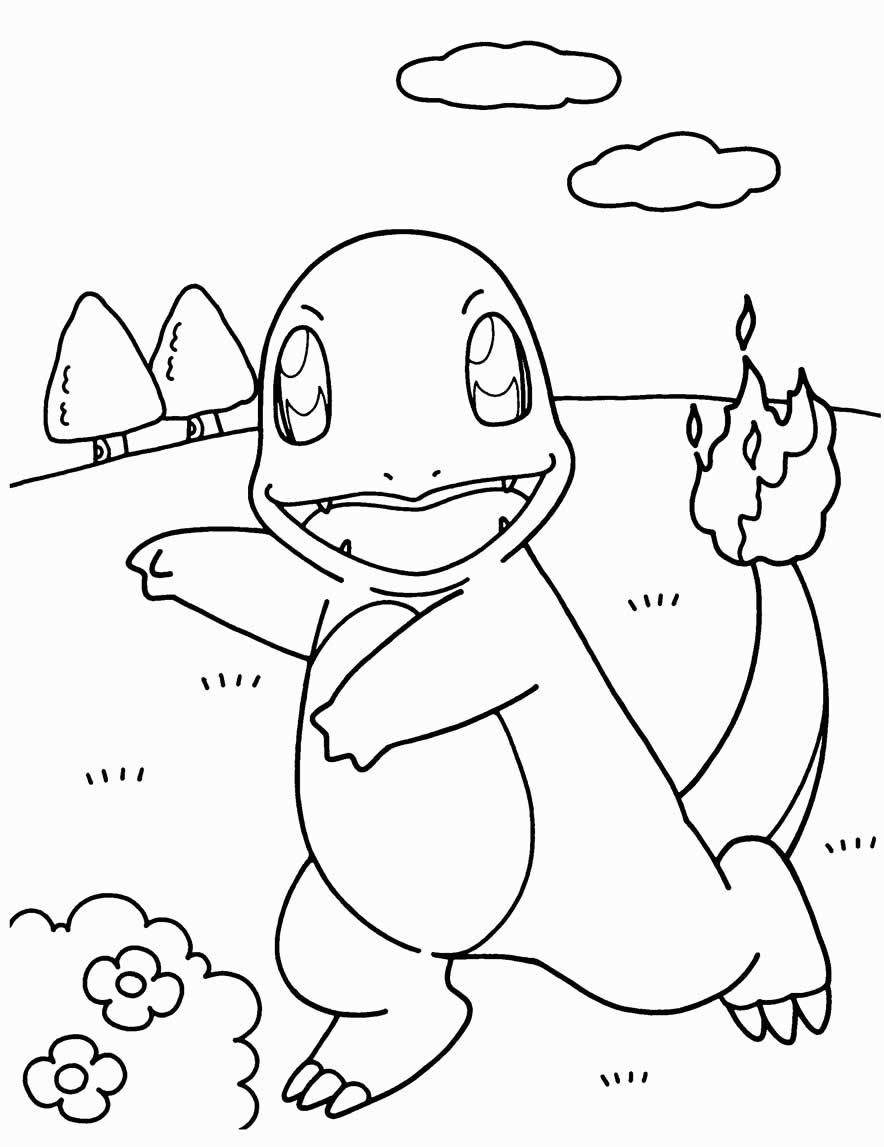 Charmeleon coloring page - Pokémon