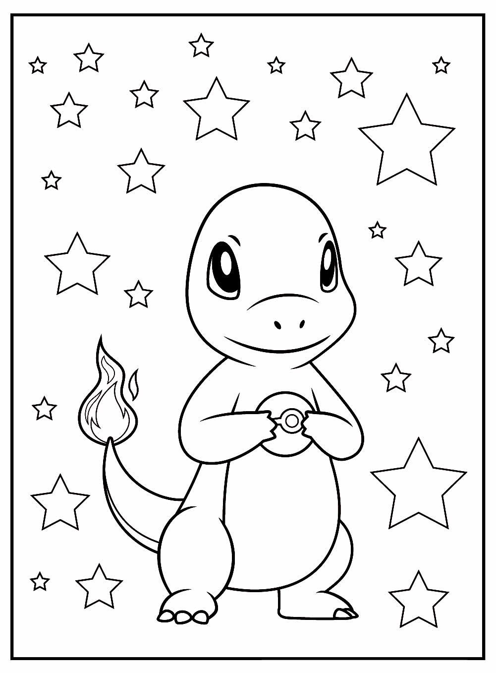 Charmeleon to paint - Pokémon