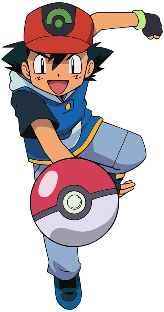 Ash's Drawing - Pokémon
