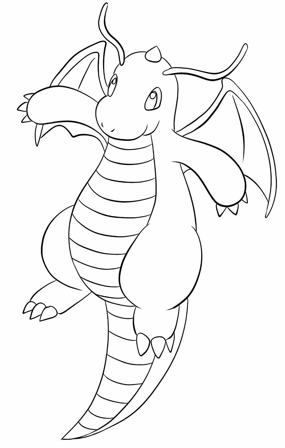 Pokémon image to paint