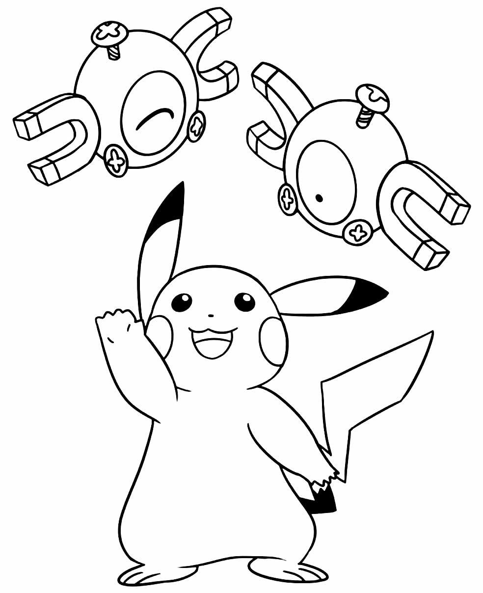 Pokémon image to color