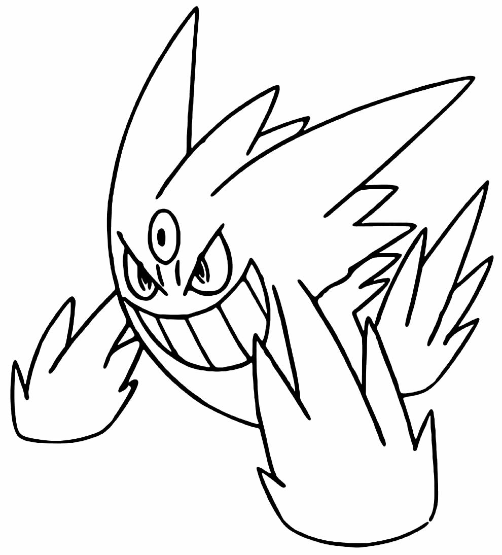 Pokémon to paint and color