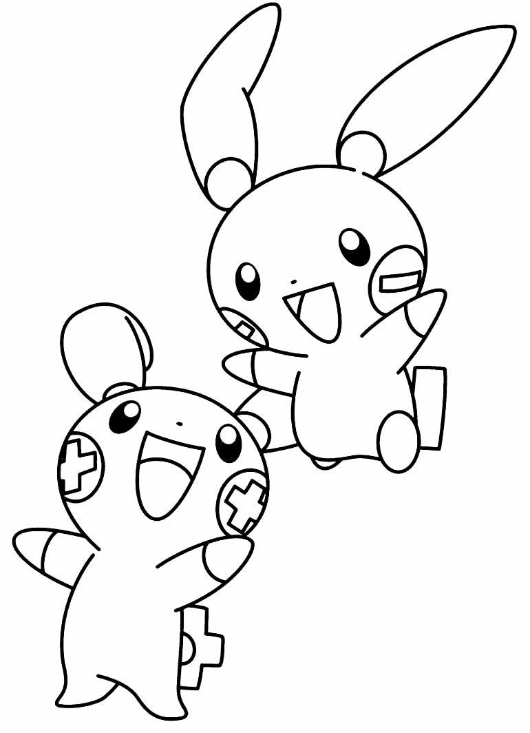 Pokemons to print and color