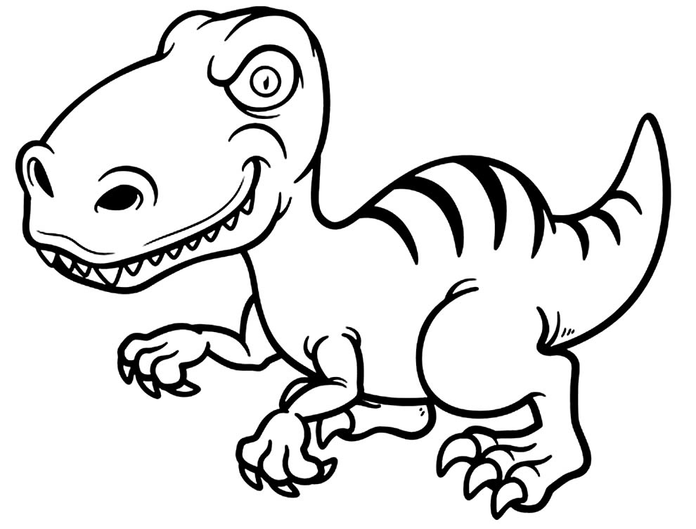 Fun drawing to paint by T-Rex