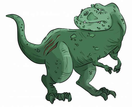 T-Rex mold