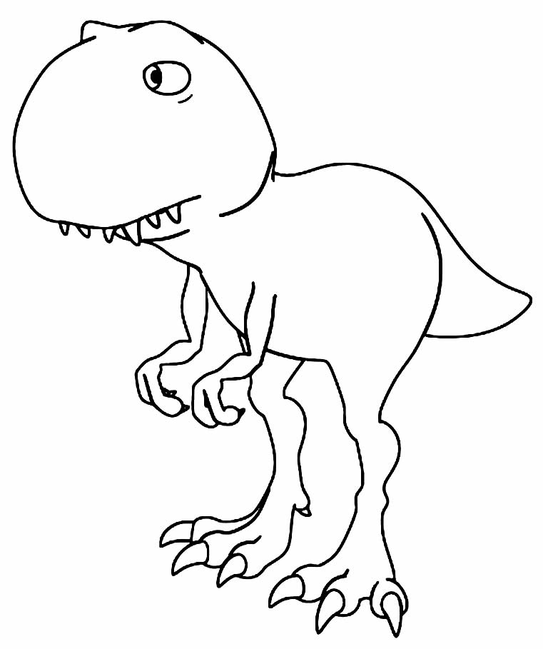 T-Rex image to paint