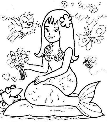 Iara drawing to print free