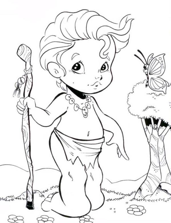folklore character Curupira