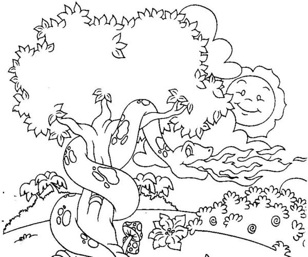 Boitata folklore drawing