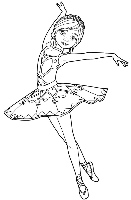 Ballerina mold to print