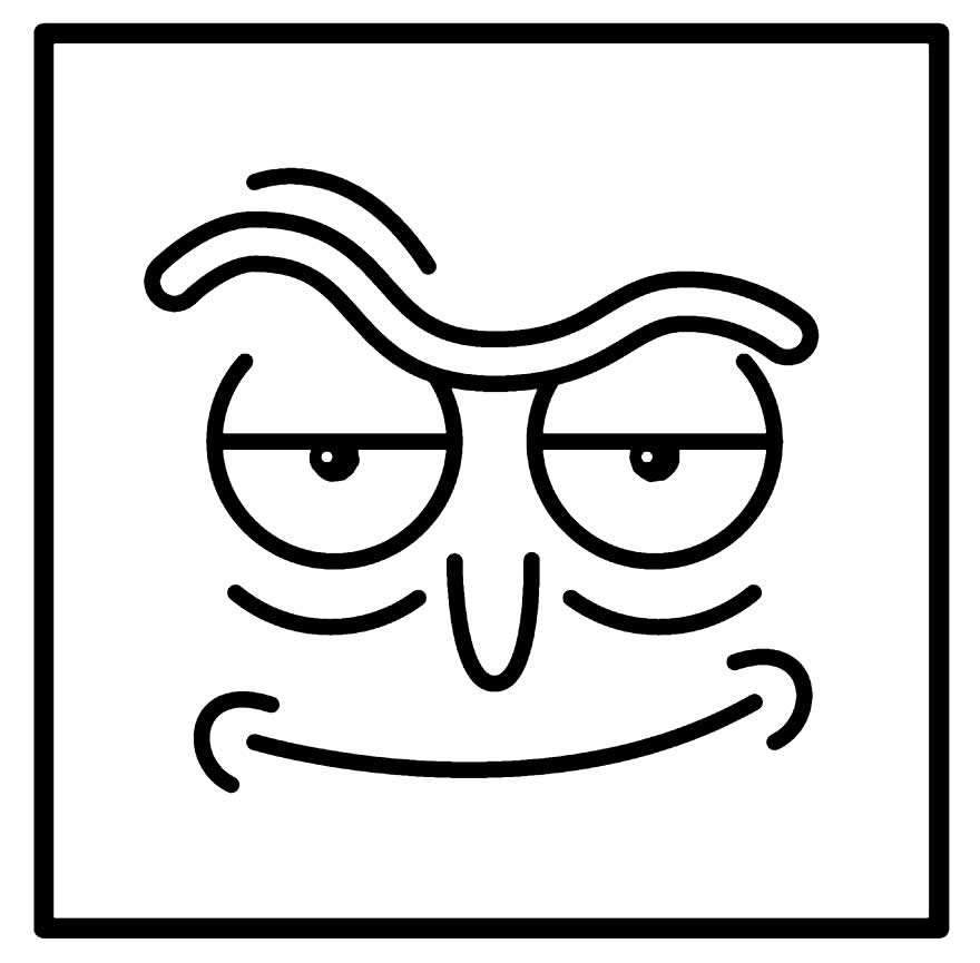 Rick and Morty Drawing