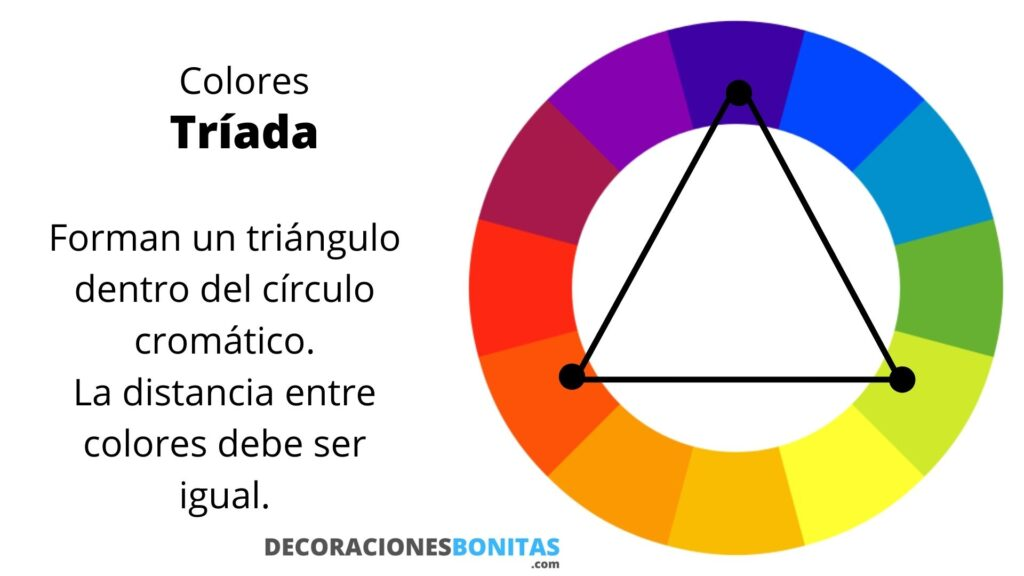 triad of colors