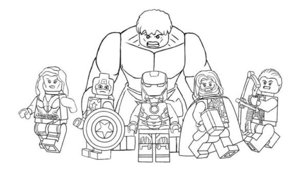 Black Widow Captain America Iron Man Thor Gaviao Archer and Hulk