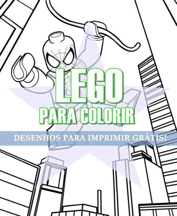 25 LEGO designs to COLOR → Print Free