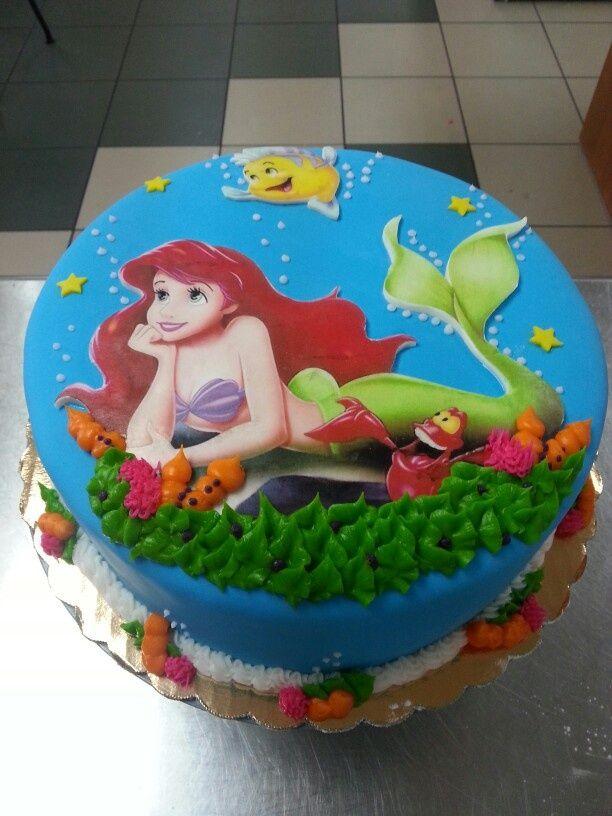Ariel Decorated Cake Ideas