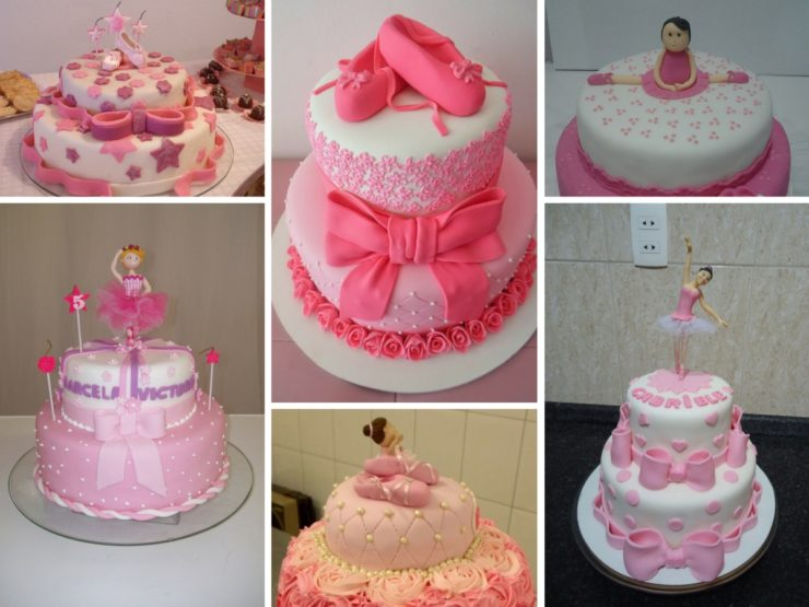 Ballerina Decorated Cake Ideas