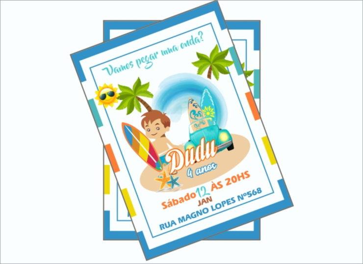 Summer Party Invitation Ideas